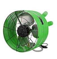 solar powered gable fan