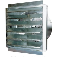 attic gable exhaust fan