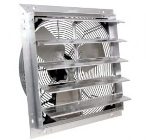 gable end attic exhaust fans