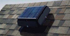 solar panel attic fan