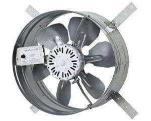 gable mount power attic ventilator