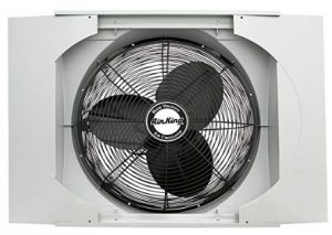 whole house fan window unit