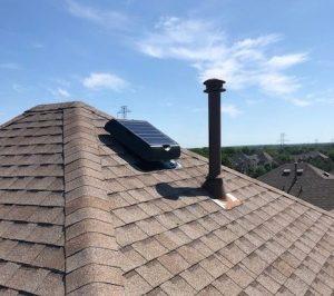 power attic roof ventilator
