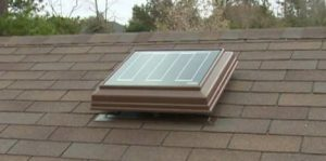 roof attic fan