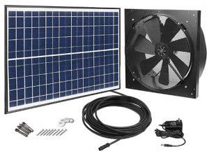 best solar powered attic fan