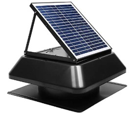 solar attic fans pros and cons