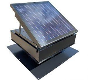 rand solar powered attic fan