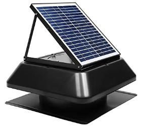 solar roof attic fan