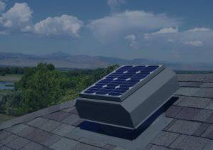 solar attic fan motor replacement
