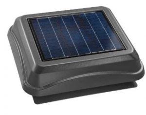 natural light solar attic fan