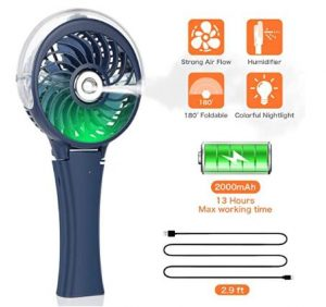 personal battery fans handheld