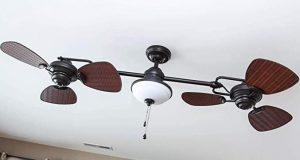Harbor Breeze small porch ceiling fans