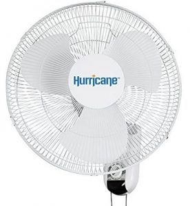 Hurricane best wall mount fan for large rooms