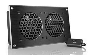 quiet powerful home theater cooling fan for summer