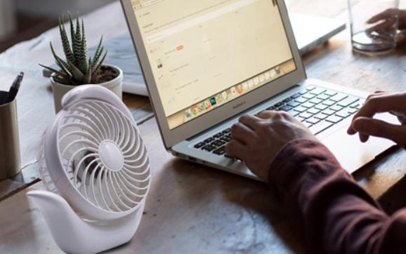 small cooling fan for office desk
