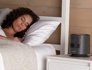 can I sleep with a fan on