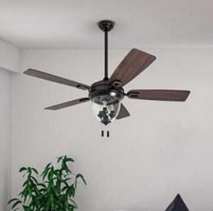 outdoor patio ceiling fan with light