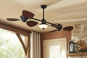 ceiling fans for small spaces