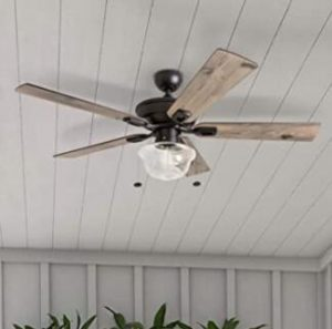 small ceiling fans with light flush mount