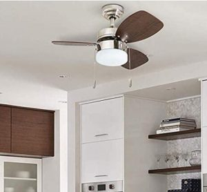 wooden ceiling fan for small rooms