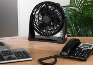 using office desk fans